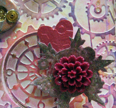 Valentines steampunk card Maya Road