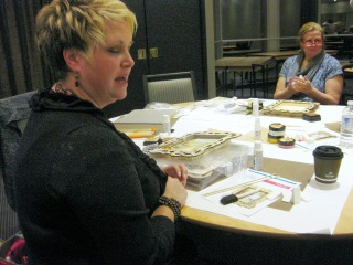 Vicki Boutin teaching
