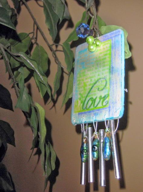 Ann Butler Designs wind chime
