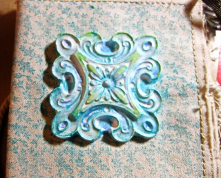 canvas stamped book Cool2cast