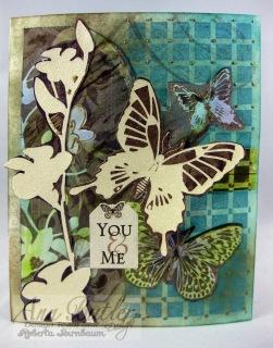 Roberta Birnbaum Ann Butler ink stamp card